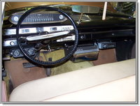 Driver's side view of the interior of my 1960 Plymouth Savoy, showing the optional 45 rpm RCA Record Player, interior, gallery_worthy