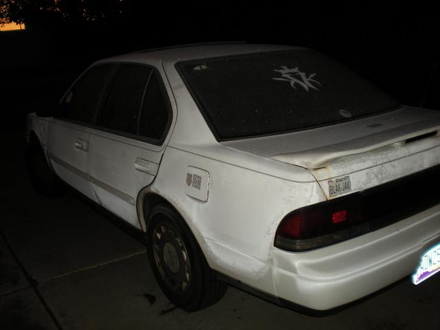 1990 Nissan Maxima SE, asian666's 1990 Nissan Maxima 4 Dr SE Sedan, exterior