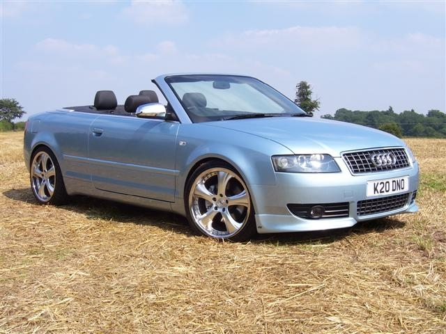 2003 Audi A4 2 Dr 1.8T Turbo Convertible picture