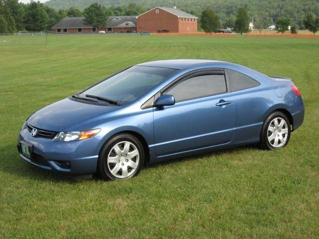 Honda Civic 2007 Coupe >> 2007 Honda Civic Coupe Pictures Cargurus