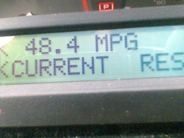 1996 Honda Accord 25th Anniversary, 1996 Honda Accord record MPG over about 30 miles., interior