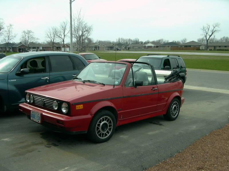 1990 Volkswagen Cabriolet