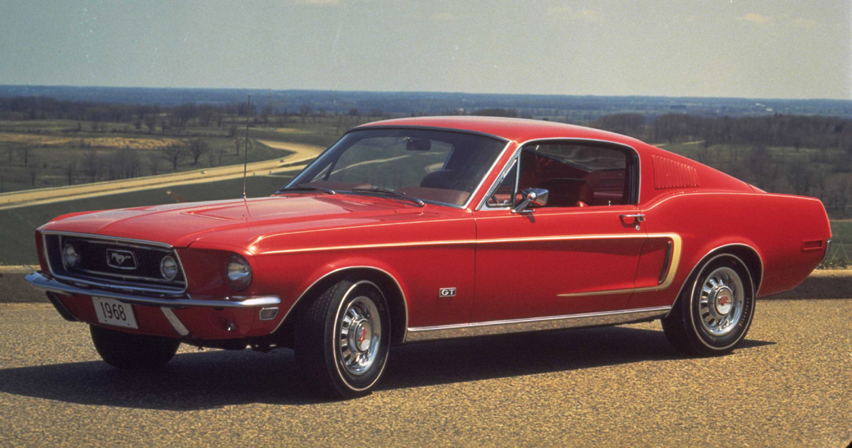 Ford Mustang Fastback Pic