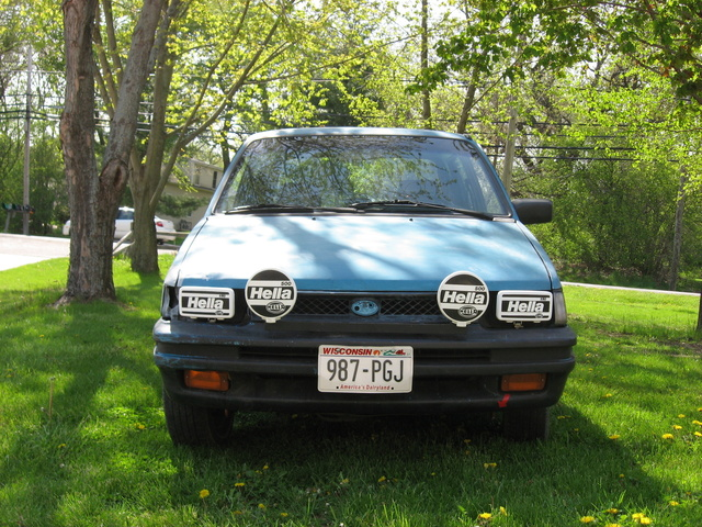 Picture of 1991 Subaru Justy 4 Dr GL 4WD Hatchback