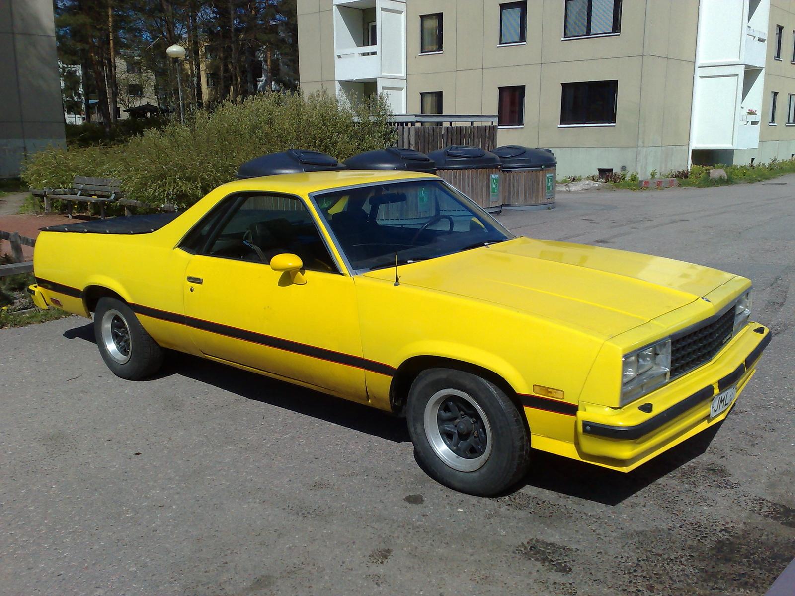 1983 Chevrolet El Camino picture, exterior
