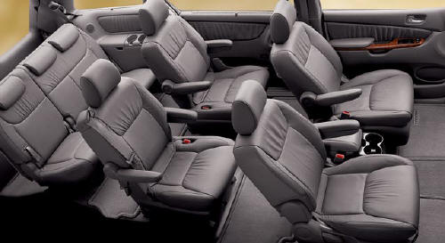 Toyota Sienna 2005 - SportCARbuzz.com | Top Car Pictures car interior