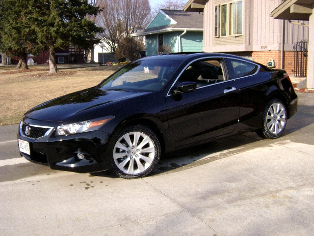 Honda Accord Coupe 2009. 2009 Honda Accord Coupe EX-L
