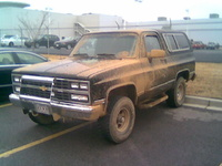1990 Chevrolet Blazer Overview
