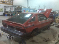 1982 Dodge Charger, New Charger in the shop getting an overhall, exterior