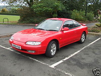 1993 Mazda MX-6 Overview