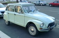 1977 Citroen Dyane Overview
