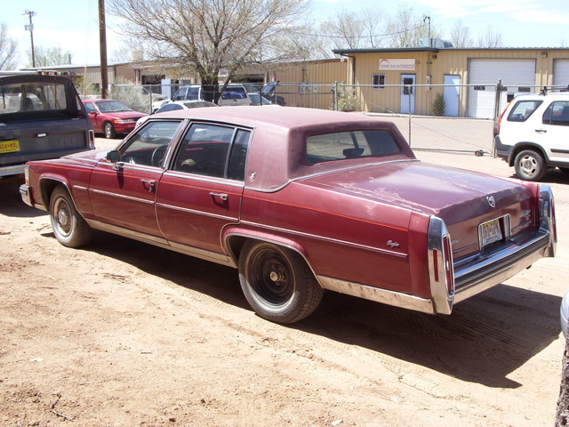 1988 Cadillac Brougham, Needs a paintjob..starting to peel in various places., exterior, gallery_worthy