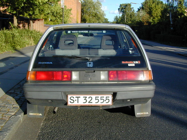 1984 Honda Civic