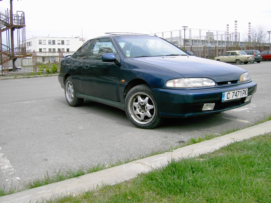 1993 Hyundai Scoupe, 1995 Hyundai Scoupe 2 Dr Turbo Coupe picture ...