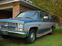 1988 Chevrolet Suburban Overview