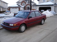 Picture of 1993 Mazda Protege 4 Dr DX Sedan, exterior, gallery_worthy