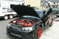Picture of 1998 Toyota Camry XLE V6, exterior, engine