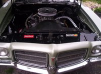 Picture of 1972 Pontiac Le Mans, engine
