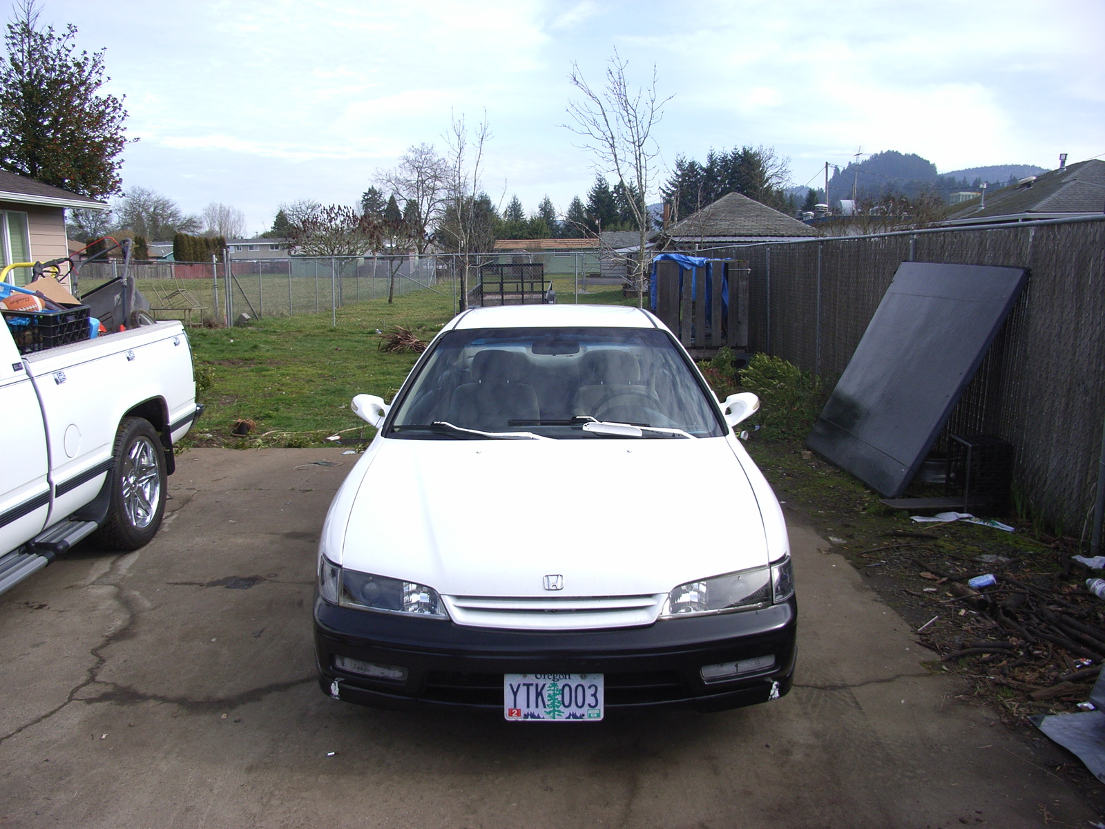 1995 Honda Accord EX Coupe, 1995 Honda Accord 2 Dr EX Coupe picture, exterior