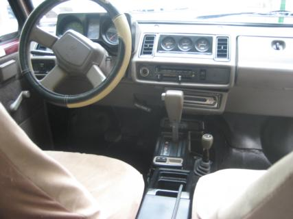 auto entertaintment and lifestyle: 1991 isuzu trooper interior