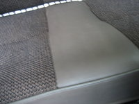 1991 Isuzu Trooper 4 Dr LS 4WD SUV, closeup of rear seat to show how clean this truck is., interior