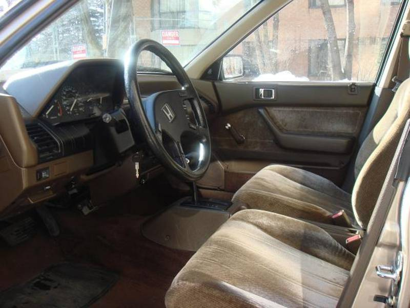 1988 Honda Accord Sedan LX picture, interior