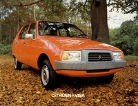 1984 Citroen Visa Overview