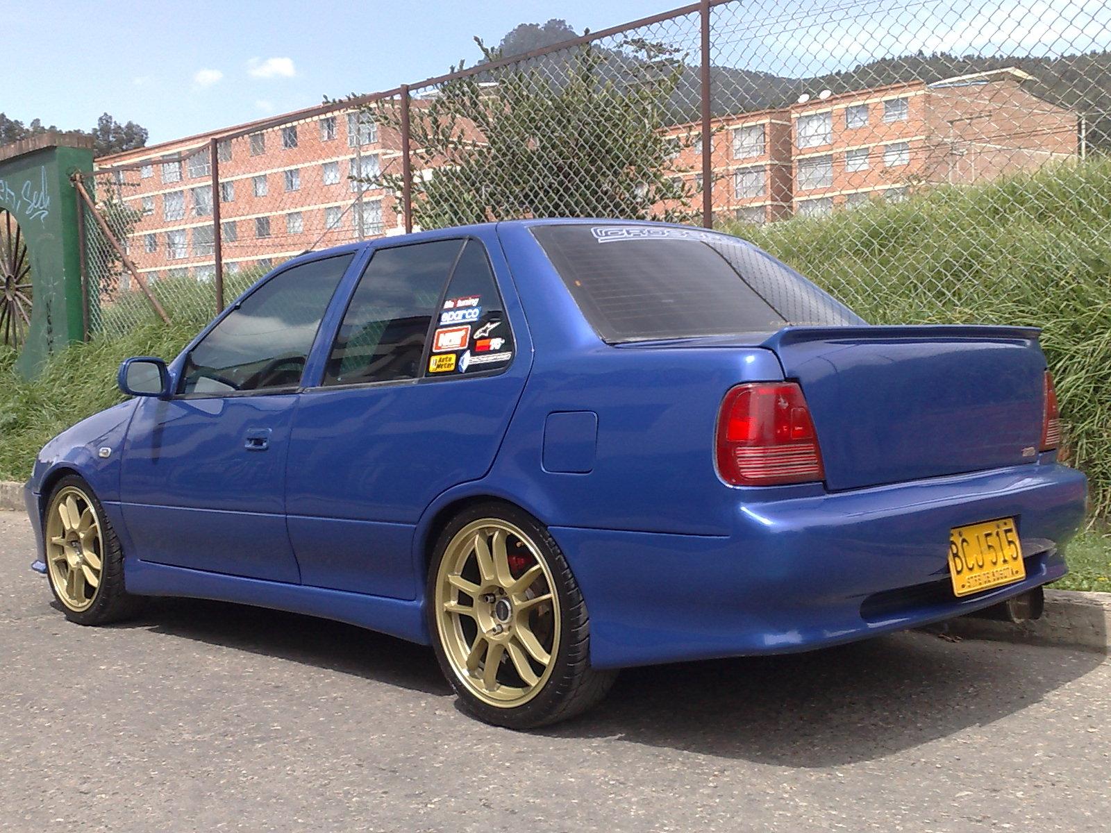 Picture of 1993 suzuki swift 4 dr gs sedan exterior