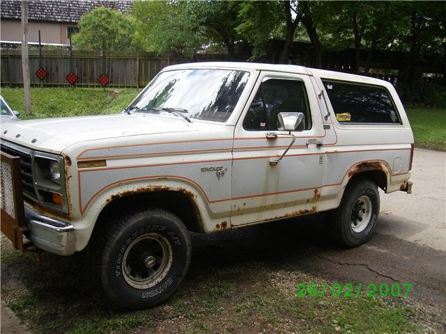 1981 Ford Bronco Pictures Cargurus