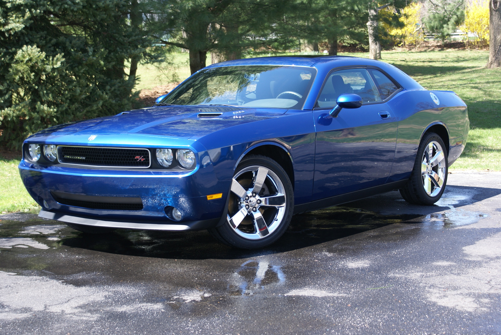 2009 dodge challenger rt classic wallpapers driverlayer search engine. Black Bedroom Furniture Sets. Home Design Ideas