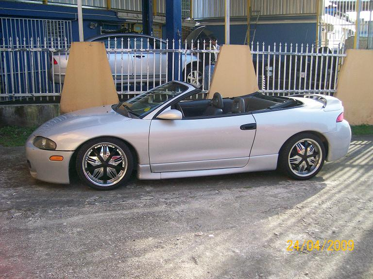 1997 Mitsubishi Eclipse Spyder 2 Dr GS Convertible picture, exterior