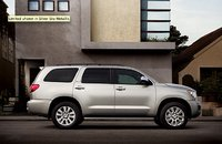 2010 Toyota Sequoia, side view , exterior, manufacturer