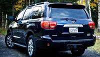 2010 Toyota Sequoia, back view, exterior, manufacturer