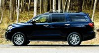2010 Toyota Sequoia, side view, exterior, manufacturer