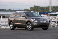 2010 Buick Enclave, Front Right Quarter View, manufacturer, exterior