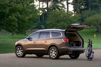 2010 Buick Enclave, Back Left Quarter View, exterior, manufacturer