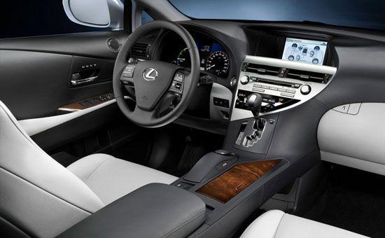 2010 Lexus RX 450h Interior