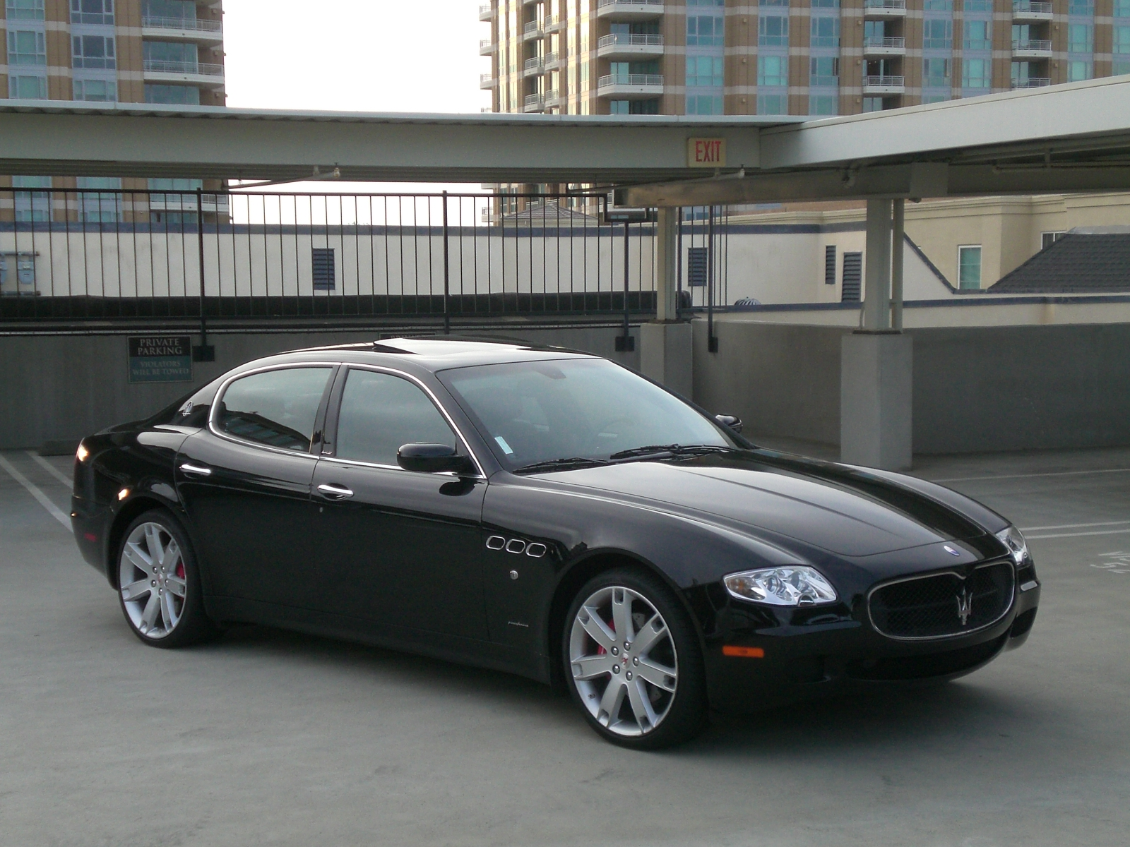 2007 maserati quattroporte pictures cargurus. Black Bedroom Furniture Sets. Home Design Ideas