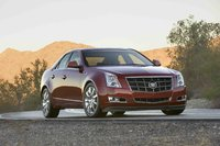 2010 Cadillac CTS, Front Right Quarter View, exterior, manufacturer