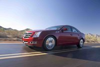 2010 Cadillac CTS, Left Side View, exterior, manufacturer