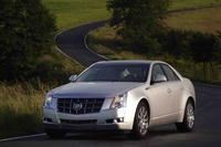 2010 Cadillac CTS, Front Left Quarter View, exterior, manufacturer