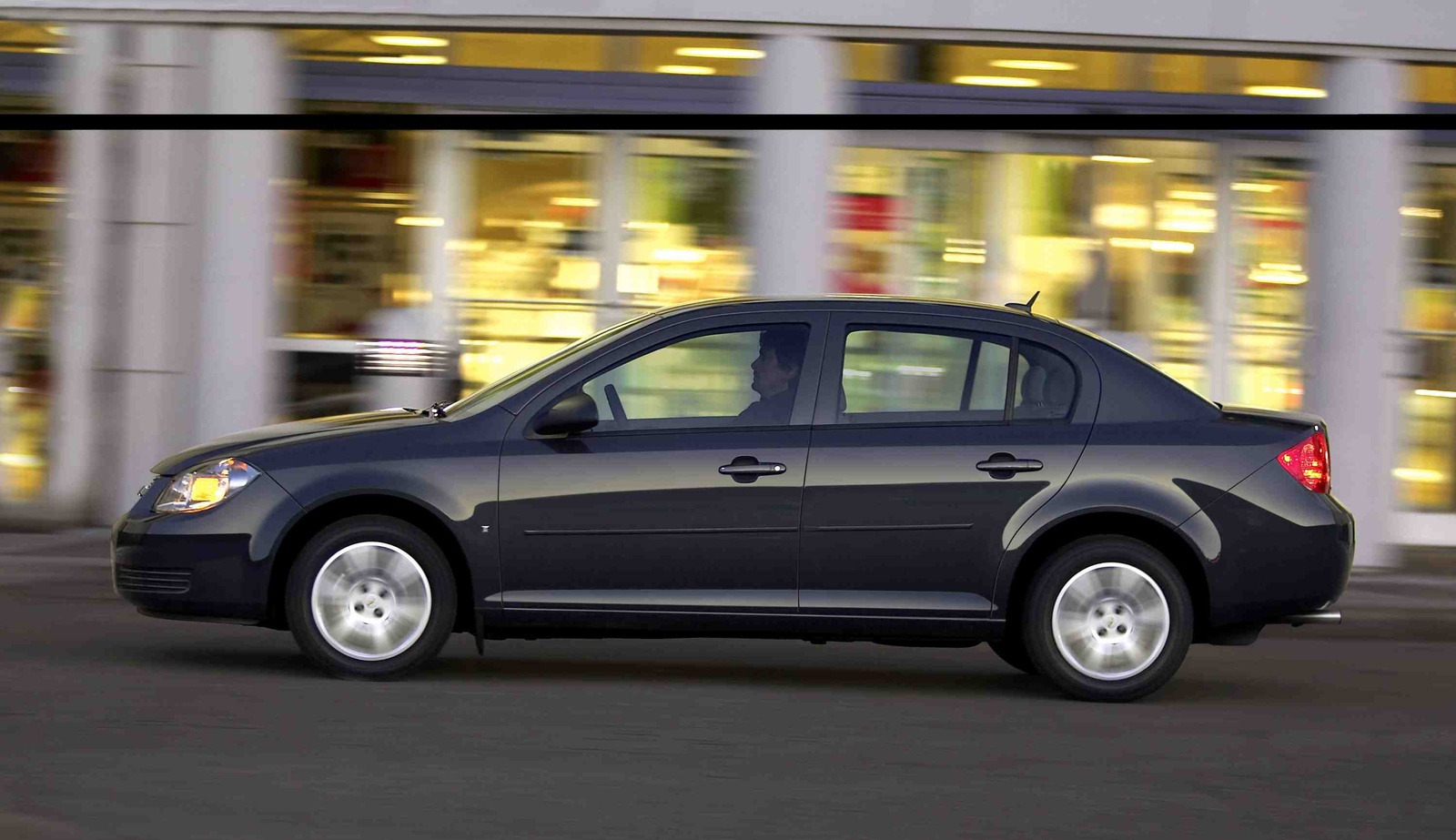 2010 Chevrolet Cobalt, Left Side View, manufacturer, exterior
