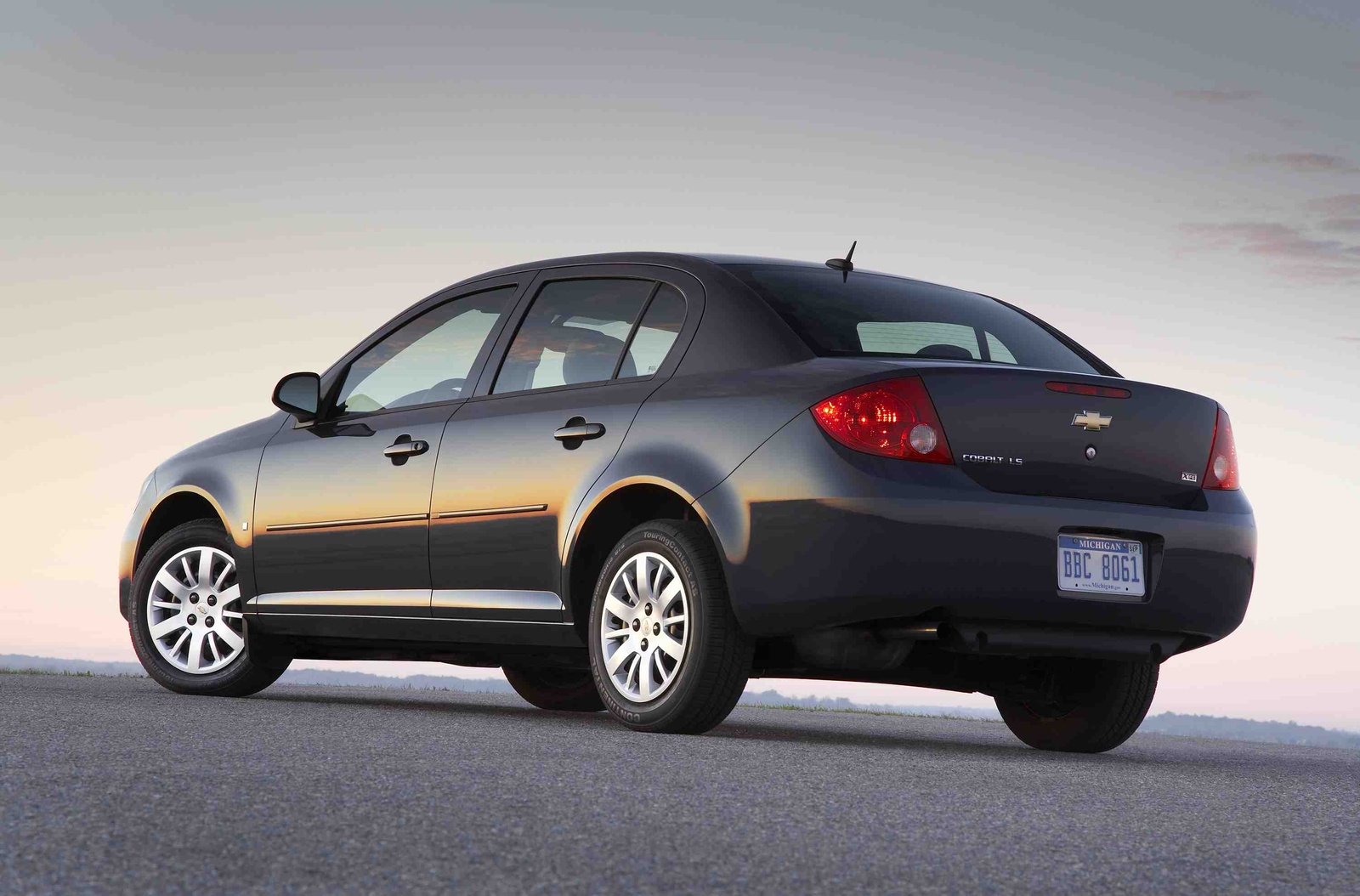 2010 Chevrolet Cobalt, Back Left Quarter View, manufacturer, exterior