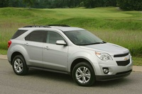 2010 Chevrolet Equinox, Front Right Quarter View, exterior, manufacturer