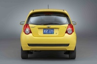 2010 Chevrolet Aveo Aveo5 LT, Back View, exterior, manufacturer