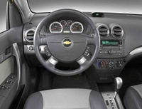 2010 Chevrolet Aveo, Interior View, manufacturer, interior