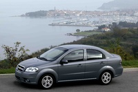2010 Chevrolet Aveo, Left Side View, manufacturer, exterior