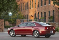 2010 Chevrolet Malibu, Back Left Quarter View, manufacturer, exterior