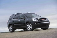 2010 GMC Acadia, Front Right Quarter View, exterior, manufacturer