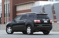 2010 GMC Acadia, Back Left Quarter View, manufacturer, exterior